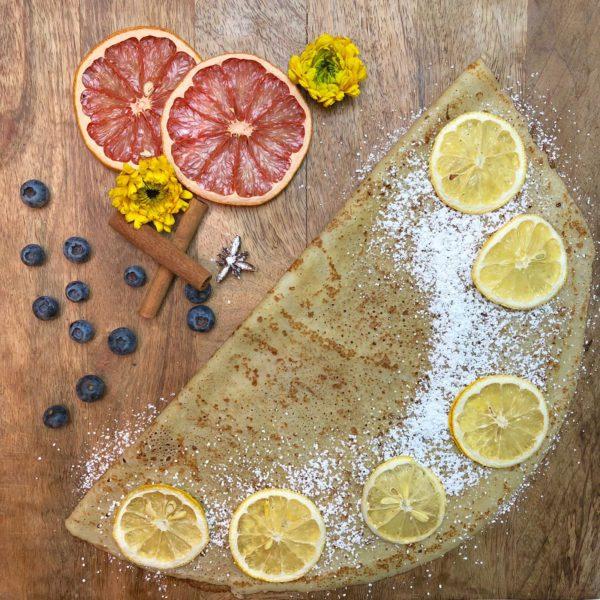 Lemon crepe